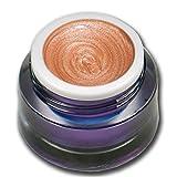 Premium Metallic Farbgel UV GEL Nr. 66 Beige Pearl 5ml RM Beautynails Nailart Nageldesign