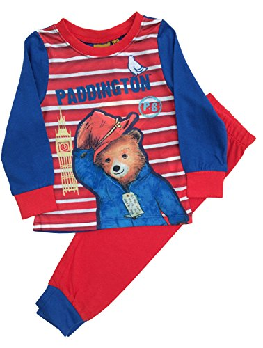 Kids Boys Paddington Bear Pyjamas Pjs Ages 4-5 Years for sale  Delivered anywhere in UK