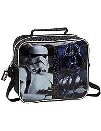 Star Wars 4234851 Neceser Bandolera Adaptable, Color Negro