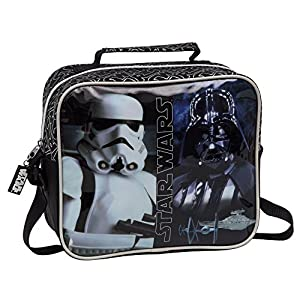 Star Wars 4234851 Neceser Bandolera Adaptable, Color Negro