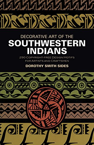 Decorative Art of the Southwestern Indians (Dover Pictorial Archives)