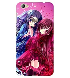 ColourCraft Besties Design Back Case Cover for LeEco Le 1S