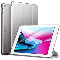ESR Coque pour iPad 2017/2018, Smart Cover Case Housse Étui de Protection Ultra Fin avec Support et Mise en Veille Automatique pour iPad 9,7 Pouces 5ème et 6ème génération A1822/A1823 (Gris)