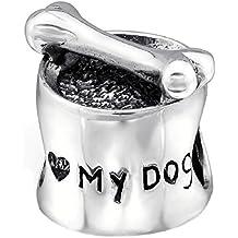 abalorio pandora cara perro