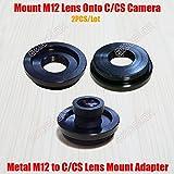 Best C&E Video Converters - Elvy 2PCS/Lot Metal M12/C M12/CS Lens Mount Adaptor Review