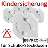 EbyReo - Handel - Kindersicherung für Schuko-Steckdosen