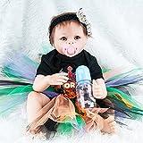 Broadroot 55 cm Simulation Newborn Baby Puppen Weiche Silikon Kinder Lebensechte Playmate Baden Nette Spielzeug Geschenke (01)