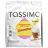 TASSIMO Cappuccino Carambar 16 Disc - Lot de 5 (80 Disc)