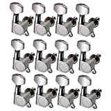 Gazechimp 12er-Set Strings Tuning Pegs Mechaniken für Akustik Gitarre - Best Reviews Guide