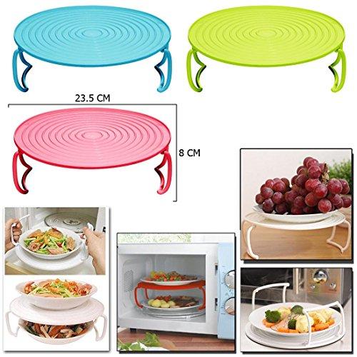 jjonlinestore-multi-purpose-folding-microwave-round-folded-plate-dish-bowl-rack-display-platform-ser