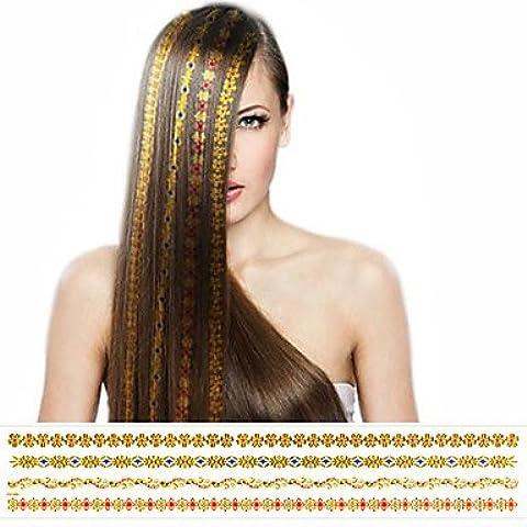 HJLWST® 1pcs adesivo capelli abbronzante dorati superiore di modo nuovo