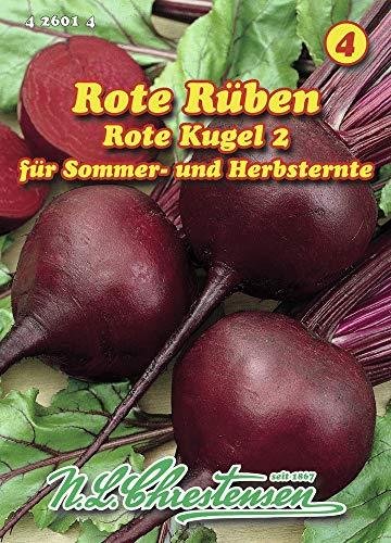 N.L. Chrestensen 426014-B Rote Rübe Rote Kugel 2 (Rote Rübensamen)