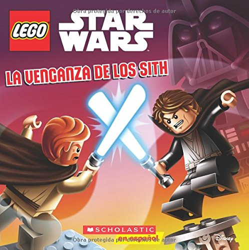 Portada del libro La Venganza de los Sith (Lego Star Wars)