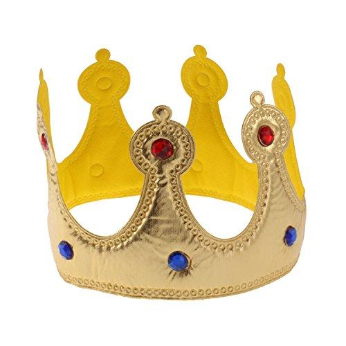 �nigskrone Hüte für Kinder Erwachsene Party Dekorationen(Gelb) ()