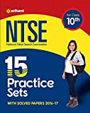NTSE 15 Practice Sets & Solved Papers for Class 10