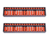Djuize Abacus 17 rod - Set of 2 (Red)