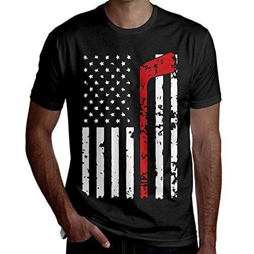 d9c31fe3dd346 Camiseta de Manga Corta de Hockey Camisetas Divertidas Camisetas Frescas  Casual Impreso Verano Novedad(M, M