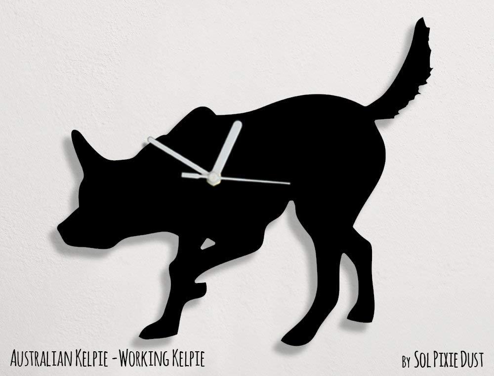 Australian Kelpie Dog – Wall Clock