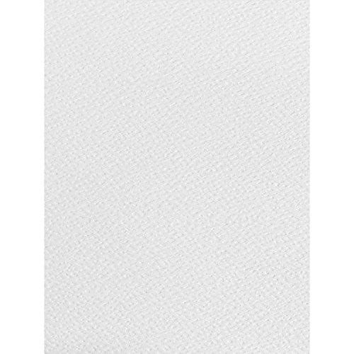100x A4blatt weiß, Papier strukturiert 120g/m² geeignet für Inkjet und Laser Drucker