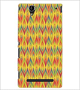SONY XPERIA T2 ULTRA DIAMOND PATTERN Designer Back Cover Case By PRINTSWAG