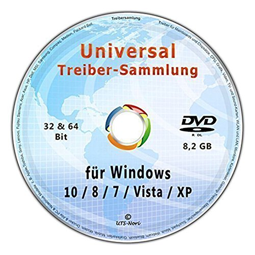 Universal Treiber-Sammlung für Windows 10 - 8 - 7- Vista - XP (32 & 64 - Dell Windows Xp-cd