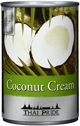Thai Pride Kokosnusscreme, Fettgehalt: ca. 22%, 4er Pack (4 x 400 ml)