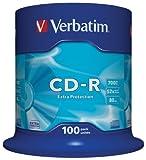 Verbatim  CD-R 52x 700MB, confezione da 100 immagine