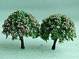 Home Garden Best Deals - SecretRain Miniature Garden Fairy Ornament Flower Pot Plant Pot Home Decor 2pcs Tree Set by SecretRain