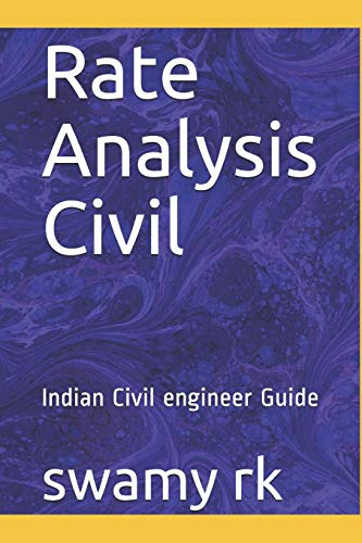 Rate Analysis Civil: Indian Civil engineer Guide