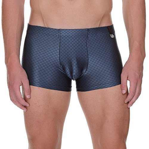 Bruno Banani Herren Short Utopian, Grau (Anthrazit 003), Large