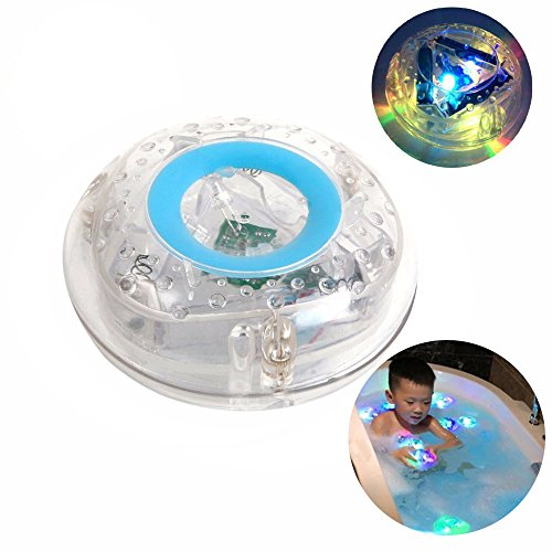 Jouets 6 Led lumière imperméable à l'eau drôle Salle de bain Bain à remous Lumières LED Jouets pour pour baignoire Salle de bains Party Divertissement Décoration