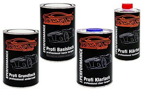 Preisvergleich Produktbild 3,5 Liter 2K Lack-Set IRISBUS / IVECO 52297 YELLOW CURSOR 10 - Grundlack spritzfertig & Autolack spritzfertig & Klarlack & Härter