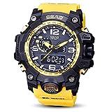 Reloj Hombre DeportivoSbao Reloj Led Hombres Relojes Deportivos a Prueba De Agua Shock Digital Electronic Absolute