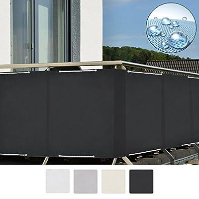 Sol Royal Balkon Sichtschutz SolVision PB2 PES Balkonumspannung 90x300 cm oder 90x500 cm diverse Farben von Sol Royal - Gartenmöbel von Du und Dein Garten