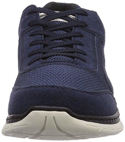 Rieker B4805/15, Baskets mode homme Bleu