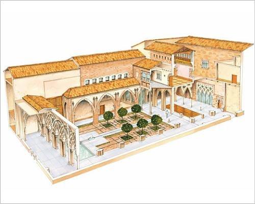 photographic-print-of-aljaferia-zaragoza-spain-islamic-palace-santa-isabel-courtyard