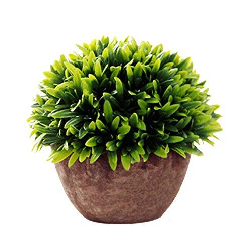 ITemer Modernas plantas artificiales macetero arbustos