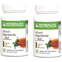 Herbalife Nutrition Afresh Energy drink Tulsi flavour (Pack of two)