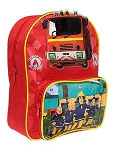 Morral para niños de Sam El Bombero. Fireman Sam es el héroe que todos conocemos! Este maletín de Sam El Bombero todos lo quieren tener!. El morral tiene el nuevo estilo de la estación de bomberos y a los personajes Sam, Elvis, Penny y el jefe de est...
