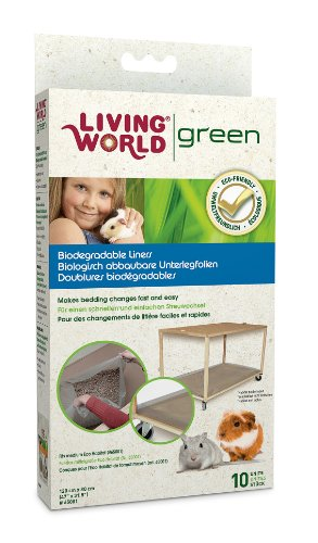 Living World Green biologisch abbaubare Unterlegfolien für das Moving Home M
