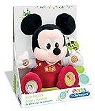 Clementoni Animales de Cine y Television Peluche Juega y aprende Mickey, Color roja (65191.7)