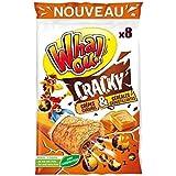 Crepes whaou cracky x8 caramel et cereales 256g Envoi Rapide Et Soignée ( Prix Par Unité )
