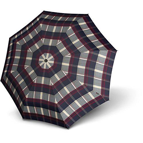 knirps-t200-duomatic-foldable-umbrella-28-cm-check-blau