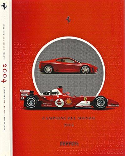 Ferrari 2004 - Campione del Mondo Piloti - Campione usato  Spedito ovunque in Italia
