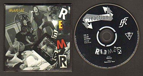 REEMER - MANIAC - CD (not vinyl)