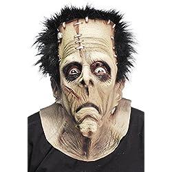 Smiffy's - Máscara de Frankenstein de látex para adulto ideal para Halloween