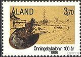 Finlande - aland 19 (complète.Edition.) 1986 colonie d\u0026#39;artistes önningeby (Timbres pour les collectionneurs)...
