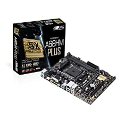Asus A68hm-plus Amd A68 Ddr3 Usb 3.0 Micro Atx Hdmi Motherboard - Socket Fm2+