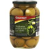 Gourmet - Aceitunas gordal picante con hueso - Verdes extra - 500 g