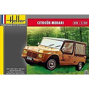 Heller 80760Kit de plástico Modelo Citroen Mehari, Escala 1: 24